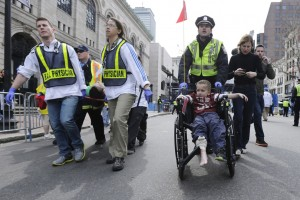 Photo from the Boston Bombing
