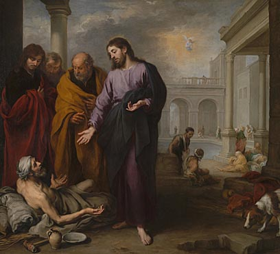 Murillo's Christ Healing the Paralytic at the Pool of Bethesda